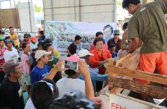 Livelihood assistance ipinamahagi sa mga katutubo sa bayan ng Tobias Fornier, Antique