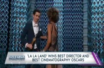 WATCH: 'La La Land' wins best director and best cinematography Oscars