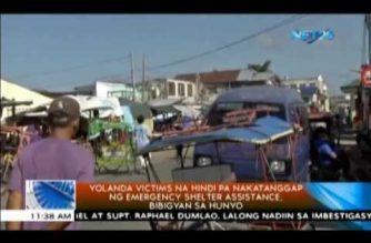 Yolanda victims na hindi pa nakatanggap ng emergency shelter assistance, bibigyan sa Hunyo