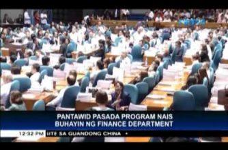 DOF wants to revive Pantawid Pasada program