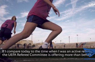 Referees get ready for new season of European football