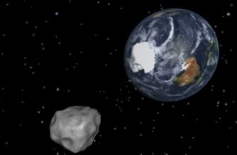 """This NASA graphic obtained February 8, 2013 depicts the Earth flyby of asteroid 2012DA14.  NASA is closely tracking an asteroid large enough to destroy a city that is set to whiz past Earth on February 15, 2013 in what the US space agency says is the closest flyby ever predicted for such a large object. The 150-feet (45-meter) wide asteroid -- dubbed 2012 DA 14 -- is expected to pass about 17,200 miles (27,000 kilometers) above the Earth at the time of closest approach, about 2:25 pm EST (1925 GMT), NASA said.  = RESTRICTED TO EDITORIAL USE - MANDATORY CREDIT """" AFP PHOTO / NASA/JPL-Caltech/"""" - NO MARKETING NO ADVERTISING CAMPAIGNS - DISTRIBUTED AS A SERVICE TO CLIENTS = / AFP PHOTO / NASA / HO"""