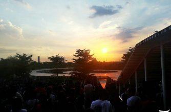 Featured Photos: Beautiful sunset in Ciudad de Victoria Bocaue, Bulacan