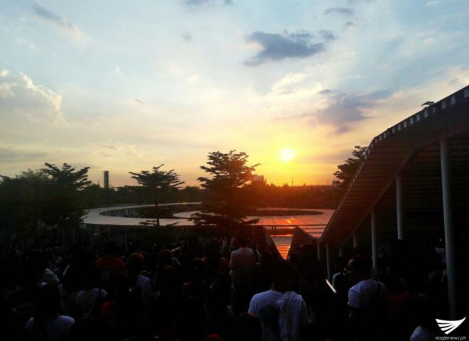 Featured Photos: Beautiful sunset in Ciudad de Victoria Bocaue, Bulacan