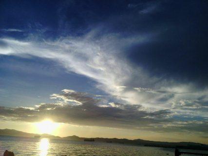 Sta.. Clara sunset (Photo by Jonas Fermalan)