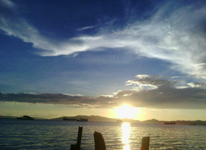 Featured photo:  Sta. Clara sunset, Batangas City