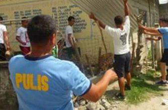 Drug surrenderees sa Camiling, Tarlac nakipagkaisa sa Brigada Eskwela