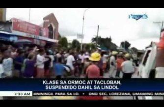 Klase sa Ormoc at Tacloban, suspendido dahil sa lindol