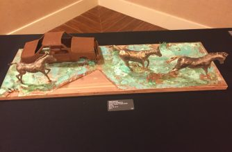 Bronze sculpture exhibit highlights art shaped from the hands of immigrants