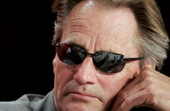 """(FILES) This file photo taken on May 19, 2005 shows US actor Sam Shepard as he listens to a question during a press conference for German director Wim Wenders' film """"Don't Come Knocking"""", at the 58th edition of the Cannes International Film Festival.  Sam Shepard, the Pulitzer Prize-winning playwright and Oscar-nominated actor whose career spanned nearly five decades, has died, US media reported on July 31, 2017. He was 73. Shepard died at home in Kentucky last Thursday of complications from amyotrophic lateral sclerosis, or Lou Gehrig's disease, The New York Times reported, citing a family spokesman.  / AFP PHOTO / FRANCOIS GUILLOT"""