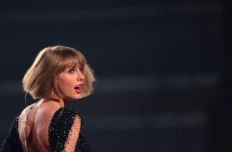"""(FILES) This file photo taken on February 15, 2016 shows singer Taylor Swift performing during the 58th Annual Grammy music Awards in Los Angeles. Taylor Swift, one of the top-selling pop stars of recent years, on August 23, 2017 announced a new album, """"Reputation,"""" to be released on November 10. The 27-year-old singer, who this week has been sharing cryptic videos of a snake showing its fangs, revealed little else about her sixth studio album but said a first single would come out Thursday.  / AFP PHOTO / ROBYN BECK"""
