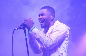 "(FILES) This file photo taken on June 13, 2014 shows Frank Ocean performing during the 2014 Bonnaroo Music & Arts Festival in Manchester, Tennessee. Frank Ocean, the introspective singer who has thumbed his nose at music industry conventions, has unexpectedly released a new song, a reflection on relationships set to a mellow R&B vibe. Ocean put out the new track, ""Provider,"" on his irregularly scheduled Apple Music radio show on August 27, 2017 just as artists were gathered for the MTV Video Music Awards. / AFP PHOTO / GETTY IMAGES NORTH AMERICA / Jason Merritt"