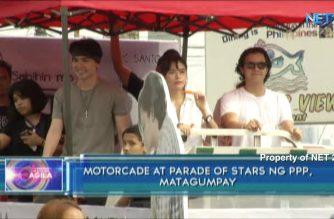 Motorcade at parade of stars ng PPP, matagumpay