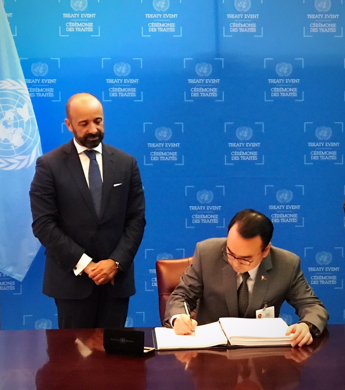 """PHL Signs """"Treaty On Prohibition Of Nuclear Weapons"""" On"""