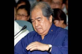 Camilo Sabio. AFP file