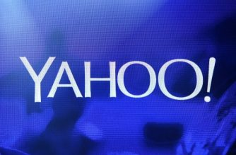 LAS VEGAS, NV - JANUARY 07: A Yahoo! logo is shown on a screen during a keynote address by Yahoo! President and CEO Marissa Mayer at the 2014 International CES at The Las Vegas Hotel & Casino on January 7, 2014 in Las Vegas, Nevada. CES, the world's largest annual consumer technology trade show, runs through January 10 and is expected to feature 3,200 exhibitors showing off their latest products and services to about 150,000 attendees.   Ethan Miller/Getty Images/AFP