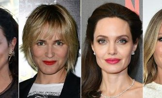 (COMBO) This combination of pictures created on October 10, 2017 shows recent images of (from L) Italian actress Asia Argento, French actress Judith Godreche and US actresses Angelina Jolie and Gwyneth Paltrow. Italian film star Asia Argento claims that disgraced Hollywood producer Harvey Weinstein allegedly assaulted her, in a bombshell New Yorker expose published on October 10, 2017. The New York Times, as well as various entertainment media, separately reported on that the litany of Weinstein's harassment victims also included Gwyneth Paltrow, Hollywood A-lister Angelina Jolie, and French actress Judith Godreche, all say they too were victims of his unwanted advances.  / AFP PHOTO / AFP PHOTO AND GETTY IMAGES NORTH AMERICA / -