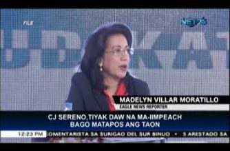 Sereno will be impeached before year-end, says lawyer who filed impeachment complaint