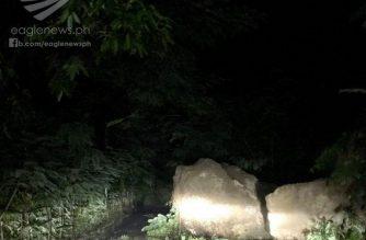Batangas City nakaranas ng landslide, rockslide at matinding pagbaha dahil sa bagyong Ramil