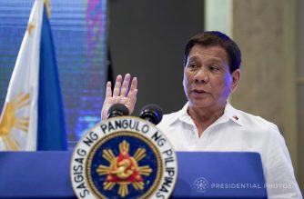 (File photo) President Rodrigo Duterte  (Photo courtesy Presidential Communications Office)