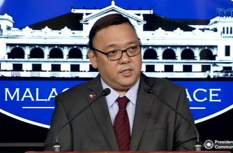 File photo.  Presidential Spokesperson Harry Roque.  (Photo courtesy Malacanang)