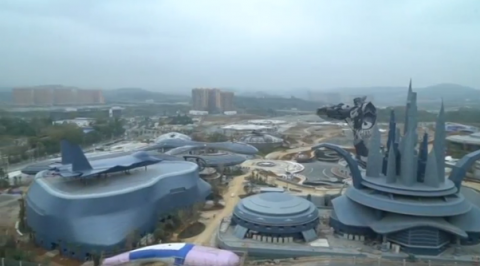 Massive virtual reality theme park offers new growth vision