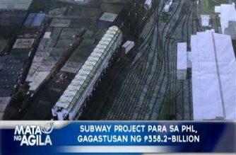 Konstruksyon ng subway sa Metro Manila, sisimulan sa 2018