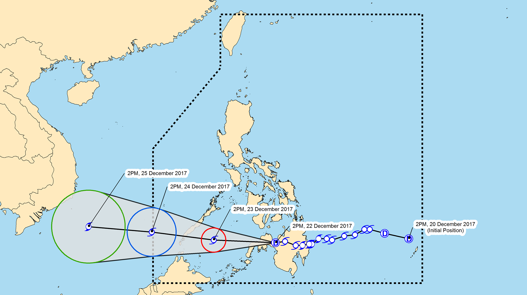 Vinta weakens into tropical depression is now over for Bureau zamboanga