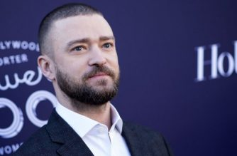 "(FILES) This file photo taken on December 6, 2017 shows actor/singer Justin Timberlake at The Hollywood Reporter 2017 Women In Entertainment Breakfast in Hollywood, California. Pop superstar Justin Timberlake on January 2, 2018 announced his first album in nearly five years, promising more ""personal"" songwriting inspired by his home and family.The 36-year-old singer and actor said that ""Man in the Woods,"" his fifth solo studio album, will come out on February 2 -- two days before he headlines entertainment during the Super Bowl, generally the most watched television event of the year in the United States.  / AFP PHOTO / VALERIE MACON"