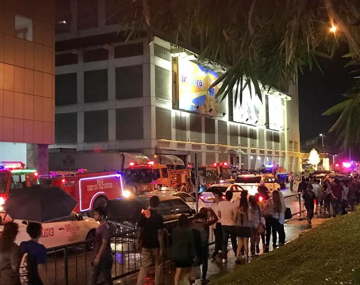 Mall management: Fire that hit Cebu mall started in stockroom