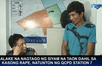 Lalaking siyam na taon na nagtago dahil sa kasong rape, natunton ng QCPD Station 7