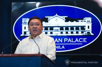 Presidential Spokesperson Harry Roque  (Photo courtesy Malacanang)