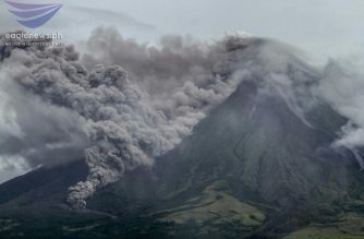 NDRRMC: Over 8,000 families evacuated following Mt. Mayon's phreatic eruption