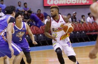 The Rain or Shine Elasto Painters blitzed past the NLEX Road Warriors on Friday, January 26, 2018. /PBA/