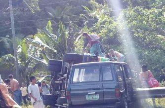 4 katao, kabilang ang isang sanggol, patay sa banggaan ng bus at FX sa Puerto Princesa, Palawan