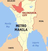 Valenzuela map/Wikipedia/