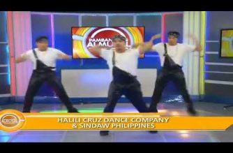 Watch: Halili Cruz Dance Company & Sindaw Philippines perform in Pambansang Almusal (Jan. 18, 2018)