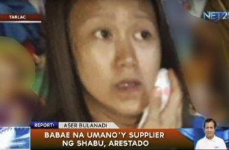 Babae na umano'y supplier ng shabu, arestado