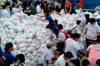 The Iglesia Ni Cristo (Church Of Christ) holds Aid to Humanity (Lingap sa Mamamayan) events in various areas for residents in Batangas and Cavite affected by the Taal Volcano's intensified activity and eruption. (Eagle News Service)